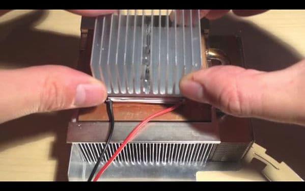 Homemade Peltier Cooler with Temperature Controller DIY